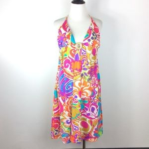 Dresses & Skirts - Halter Midi Dress Size L